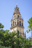 Tower of the mosque in Cordoba Royalty Free Stock Image