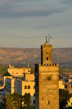 Arabic Mosque. Tower of a mosque in Fez Medina Stock Photography
