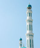 Tower of the mosque Royalty Free Stock Images