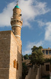 Tower of the mosque Stock Photography