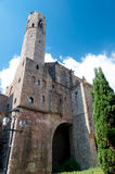 Tower of Museo de historia de Barcelona Royalty Free Stock Images