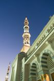 Tower of the Nabawi mosque Royalty Free Stock Photo