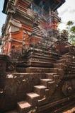 Tower near main gate to Pura Taman Ayun Stock Photography