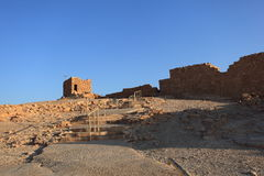 Tower near Northern Complex in Masada Stock Image