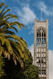 Tower of Nelson Cathedral in New Zealand Royalty Free Stock Images