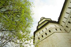 Tower in New Jerusalem monastery Royalty Free Stock Photography