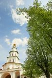 Tower in New Jerusalem monastery Royalty Free Stock Image