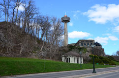 A Tower in Niagara city royalty free stock photography
