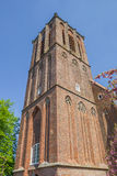 Tower of the Nicholas church in Elburg Stock Photography