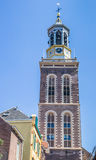 Tower Nieuwe Toren in the historical city Kampen Stock Images