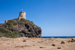 Tower in Nora, Sardegna Royalty Free Stock Photo