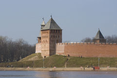 Tower of Novgorod Kremlin Royalty Free Stock Photography