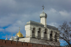 Tower of the Novgorod Kremlin, Historic Monuments of Novgorod and Surroundings,Russia Royalty Free Stock Photography