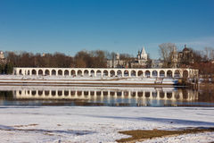 Tower of the Novgorod Kremlin, Historic Monuments of Novgorod and Surroundings,Russia Stock Images