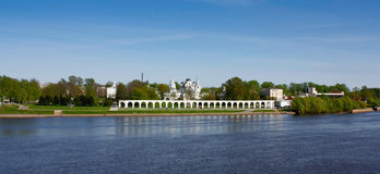Tower of the Novgorod Kremlin, Historic Monuments of Novgorod and Surroundings,Russia. Tower of the Novgorod Kremlin, Historic Monuments of Novgorod and Royalty Free Stock Photos