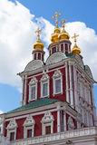 Tower of the Novodevichy Convent in Moscow Royalty Free Stock Photo