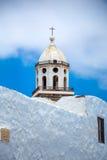 Tower of Nuestra Señora de Guadalupe church Stock Photos