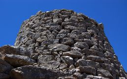 Tower of Nuraghe Stock Photo