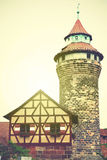Tower in Nuremberg Castle Royalty Free Stock Images