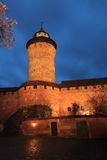 Tower in Nurnberg Royalty Free Stock Image