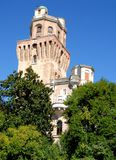 Tower of the Observatory or the devil in Padua in Veneto (Italy) Royalty Free Stock Image