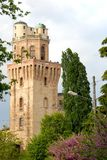 Tower of the Observatory or the devil in Padua in Veneto (Italy) Royalty Free Stock Photos