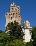 Tower Observatory, the former observatory, or the devil in Padua in Veneto (Italy) Stock Photography