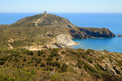 Free Tower Of Capo Malfatano In Sardinia, Italy. Stock Photos - 92646503