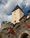 Tower Of Medieval Mauterndorf Castle Royalty Free Stock Photography
