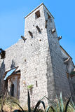 Tower Of The St. Marija Monastery Stock Images