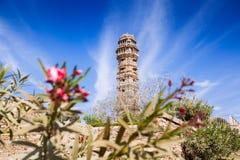 Tower Of Victory Vijay Stambha In Chittor Fort. Chittorgarh Stock Images