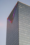 Tower. An office building with modern glass and steel construction Stock Photography