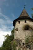 Tower of old castle Stock Image