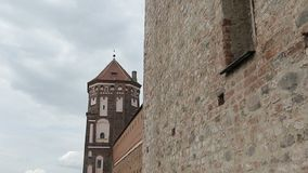 The Tower of the Old Castle.  stock video
