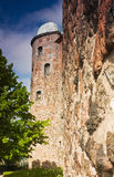Tower of the old castle Stock Images