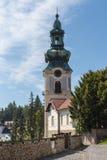 Tower of the Old Castle, Banska Stiavnica, Slovakia Royalty Free Stock Image