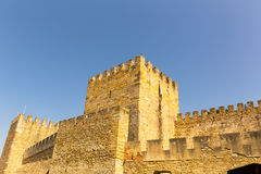 Tower of an old castle Royalty Free Stock Photography