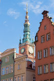 Tower of old city hall,Gdansk, Poland Stock Photography