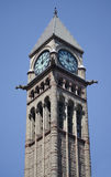 Tower of Old City Hall in Toronto Stock Photo