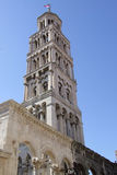 A tower in old city of Split in Croatia Stock Photos