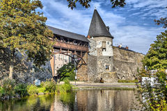 Tower of the old city wall of Andernach, Stock Photos