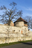 Tower of old city wall in Muehlheim Stock Image