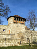 Tower of old city wall in Muehlheim Stock Photography