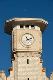 Tower with old clock Stock Photo