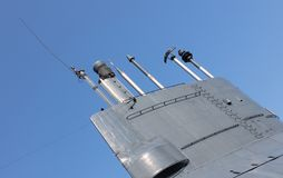 Tower of an old dutch submarine Royalty Free Stock Photography