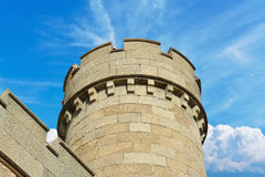 The tower of the old fortress Stock Photo