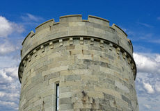 The tower of the old fortress Royalty Free Stock Image