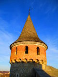 Tower of the old fortress, Kamenets Podolskiy, Ukraine Royalty Free Stock Photo