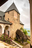 Tower of the old medieval Castle Hochosterwitz Stock Photography