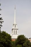 Tower of Old North Church Royalty Free Stock Photos